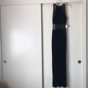 VINTAGE 🖤 Velvet + Mesh Gown